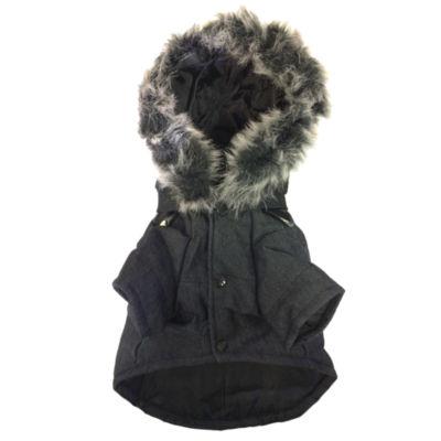Choppered Wool Coat