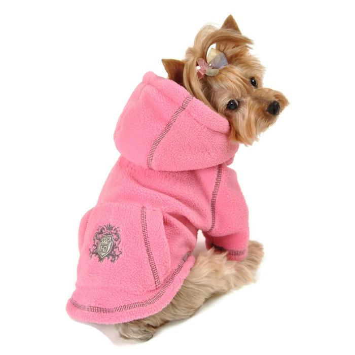 Fleece Hoodie Pink