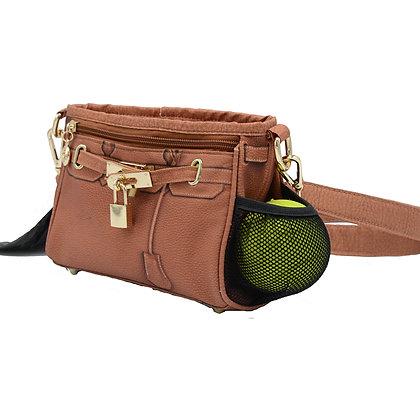 Bentley Training Bag and Poop Bag Holder Pecan