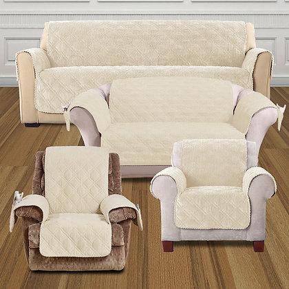 Wide Wale Corduroy Furniture Slipcovers