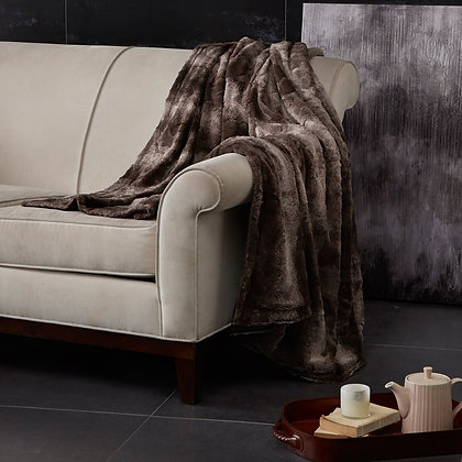 Madison Park Oversized Faux Fur Throw