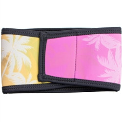 Palm Tree Pink Belly Band