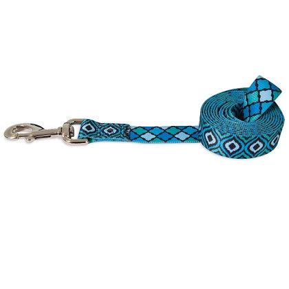 Petmate® Geo Dog Leash Blue