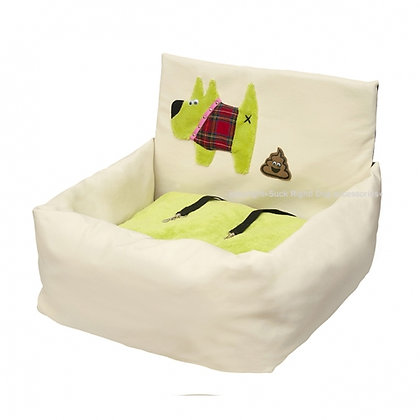 Happy Poo Dog Car Seat