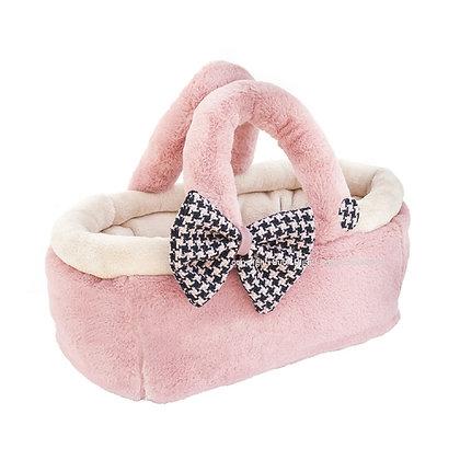Gabrielle Chanel Basket Bag Dog Carrier Pink
