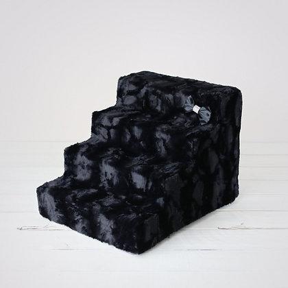 Luxury Dog Stairs Black Diamond