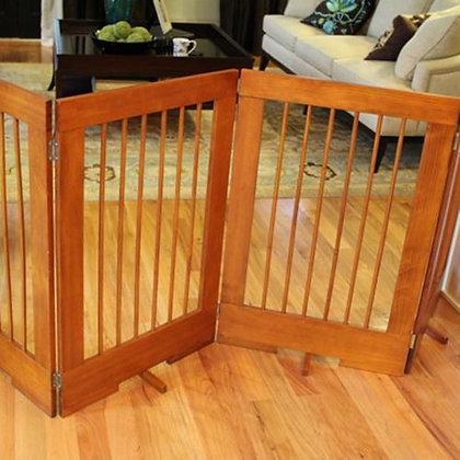 Freestanding 4 Panel Dog Gate