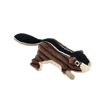 Woodland Character Squeaky Chipmunk Dog Toy