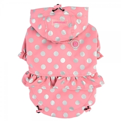 Dog Raincoat Pink