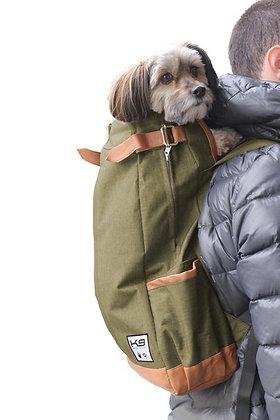 Urban Dog Backpack Carrier Olive Green