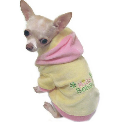 Miss Behaving Dog Hoodie