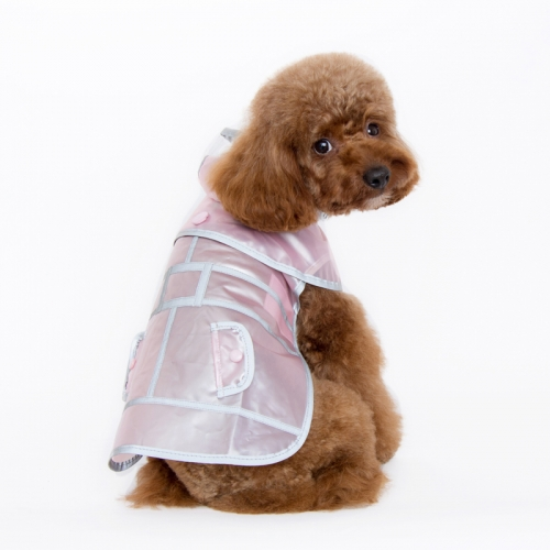 Jelly Raincoat Pink