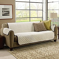 CouchCoat Furniture Cover Brown/Cream