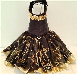 Glam Girl Dog Harness Dress