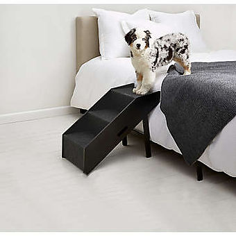 PawsLife Deluxe Collapsible Step Ramp Black