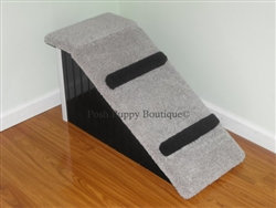 "Designer 18"" Pet Ramp With Step Aid"