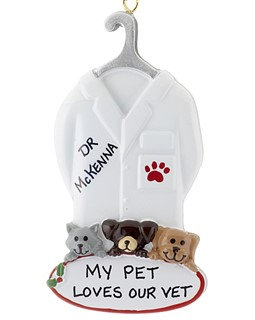 Veterinarian Christmas Ornament