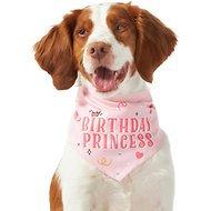 Birthday Princess Dog Bandana Pink