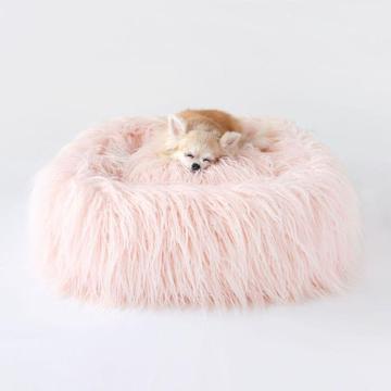 Himalayan Dog Bed Peach
