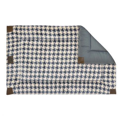 Houndstooth Crate Mat