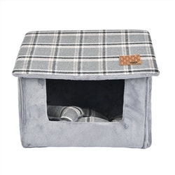 Quincy Dog Cave Bed Millange Grey
