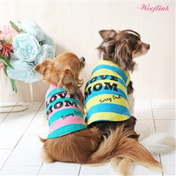 Love Mom Dog Tee Shirt