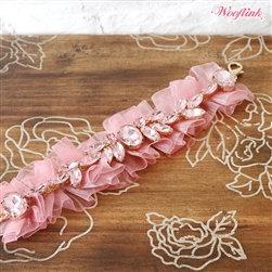 Wooflink Moon Dust Dog Necklace Pink