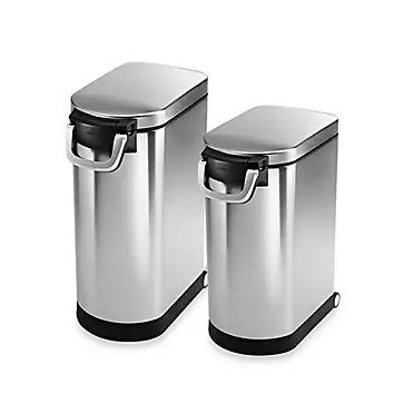 Simplehuman Stainless Steel Pet Food Storage Can