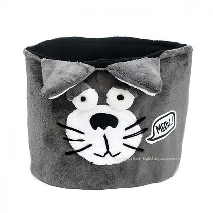"""Cat"" Dog Toy Bin"