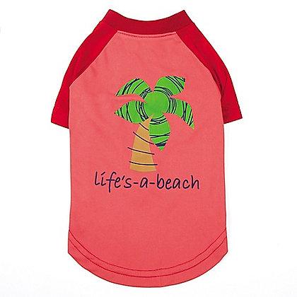 Zack & Zoey Under The Sea Beach Dog T-Shirt
