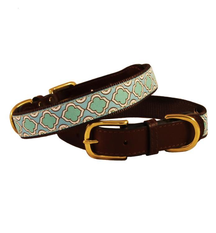 Seaglass Leather Collar