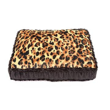 Rectangle Dog Bed Big Cat/Black Mink
