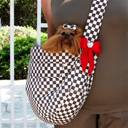 Susan Lanci Windsor Check Cuddler Carrier