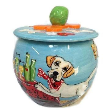 Labrador Looking Dog Treat Jar