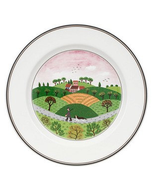 Villeroy & Boch Hunter & Dog Salad Plate