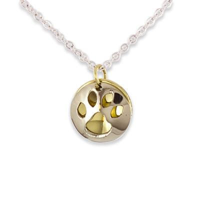 Taxco Paw Print Necklace