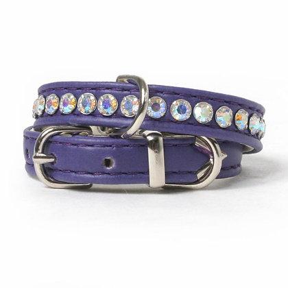 Crystal Row Soft Dog Collar