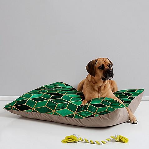 Emerald Cubes Bed