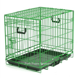 Fashion Color Lime Dog Crate