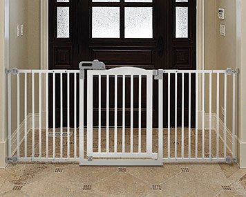 One-Touch Wide Pet Gate
