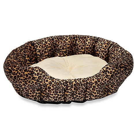 Warming Leopard Bed