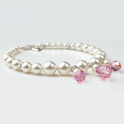 Jackie O. Swarovski Crystals Dog Necklace