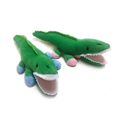 Alligator Safari Baby Dog Toy