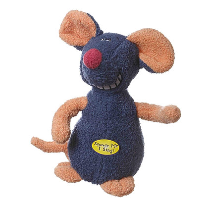 Multipet Deedle Musical Mouse Dog Toy