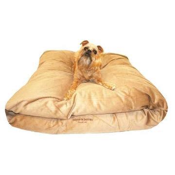 Beige Latte Cord Snuggle Pod Dog Bed