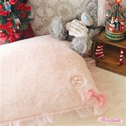 Hug Me Dog Pillow Bed Pink