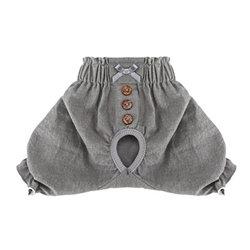 Simple Daily Dog Sanitary Panty Gray