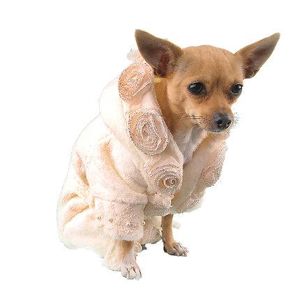 Juliet Dog Bathrobe Cream