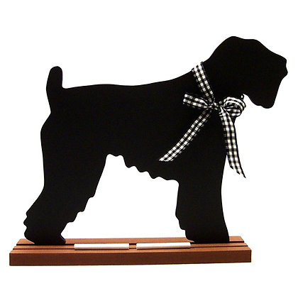 Dog Breed Wall Mounted Blackboard/Chalkboard