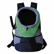 On-The-Go Backpack Dog Carrier Green